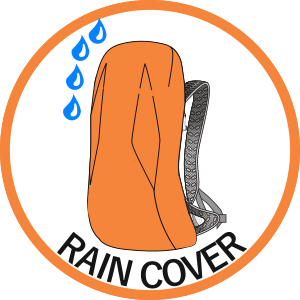 Rain cover included