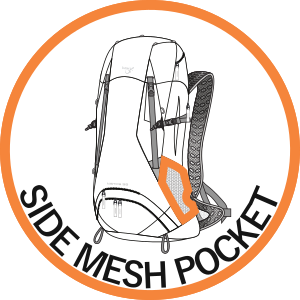 Side Mesh Pockets