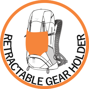 Retractable Gear Holder